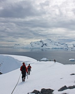Hiking excursion, Antarctica