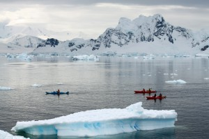 Sea kayaking, Antarctica
