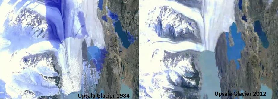 Upsala Glacier 1984 2012