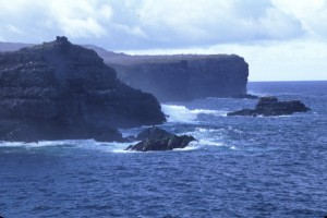 Galapagos cliffs