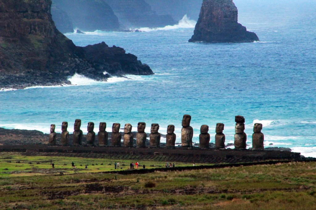 how to get to easter island from new zealand