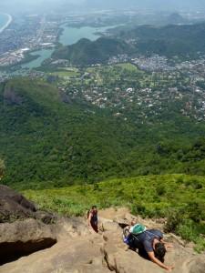 Pedra de Gavea rock climb