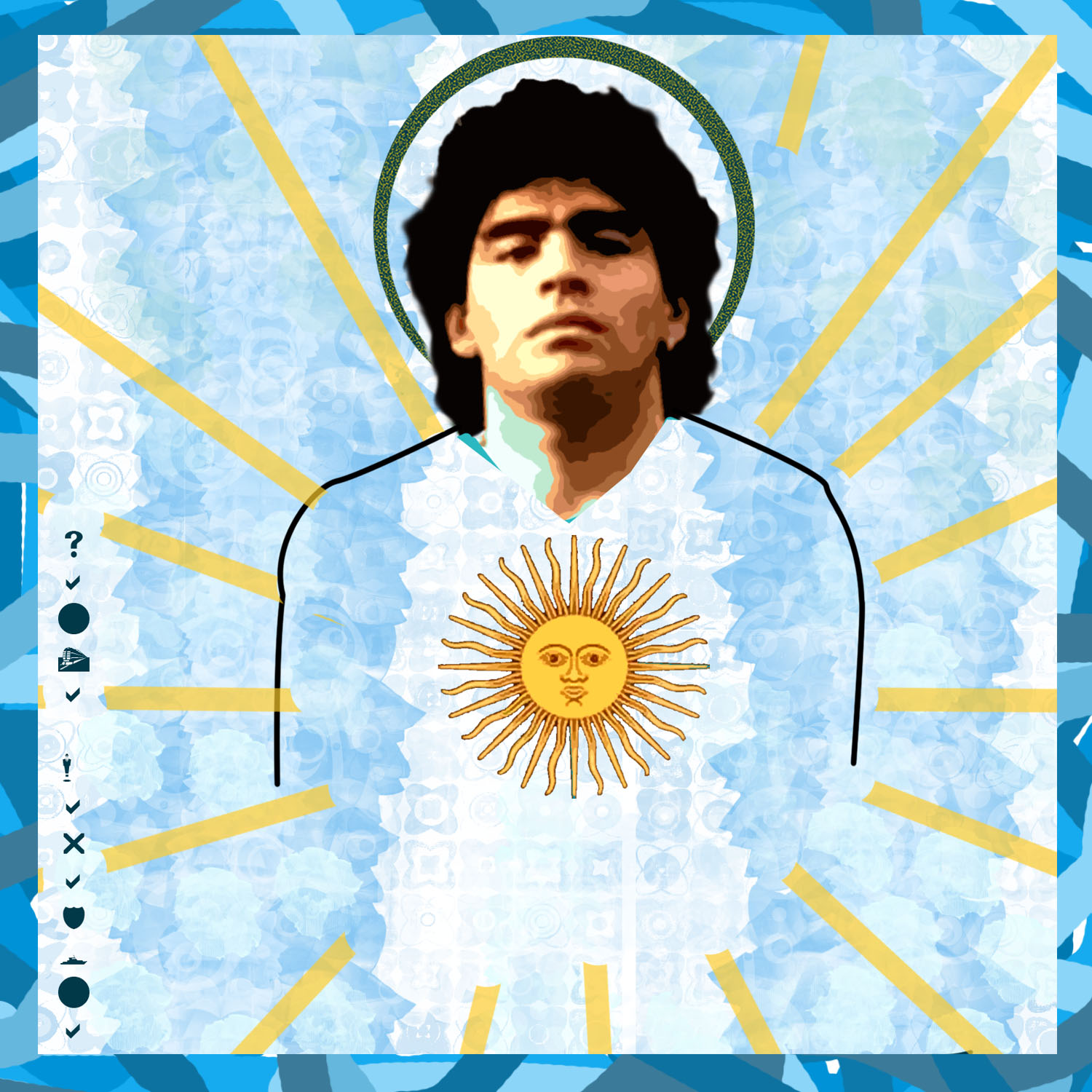 maradona, argentina travel tours - south america travel - vaya adventures