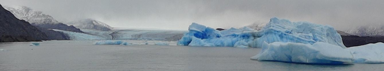 upsala glacier panoramic