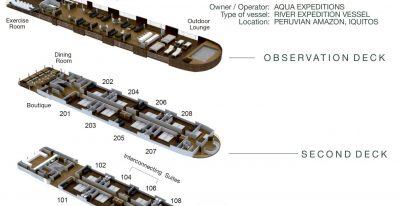 Aria - Deck Plan