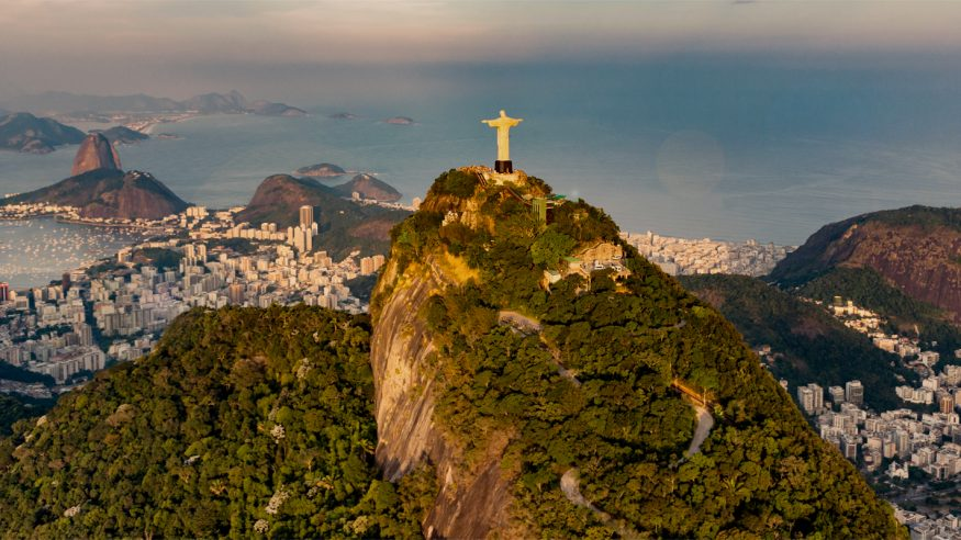Rio de Janeiro Cristo Redentor View