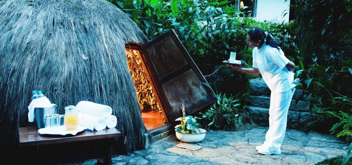 Andean Sauna at Inkaterra Machu Picchu Pueblo Hotel