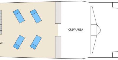 Aqua - Deck Plan - Sun Deck