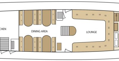 Aqua - Deck Plan - Main Deck