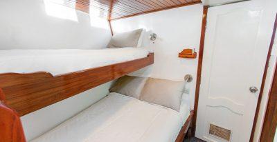 Aqua - Lower Deck Double Twin Cabin