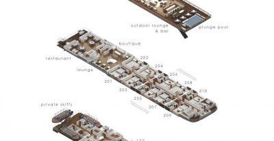 Aqua Nera - Deck Plan