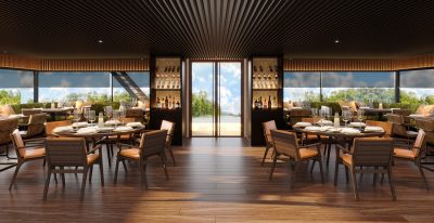 Aqua Nera - Dining Room