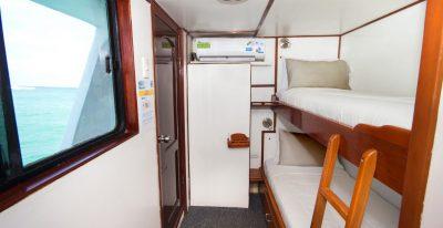 Aqua - Upper Deck Twin Cabin