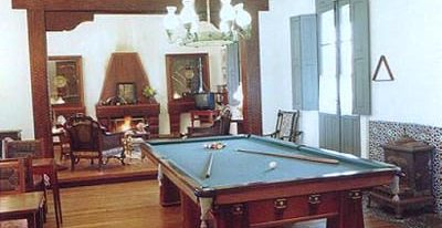 Estancia El Ombu_games room (photo credit El Ombú de Areco)