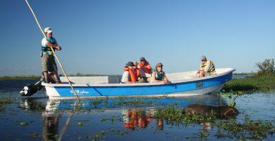 Aguape Lodge_motor boat