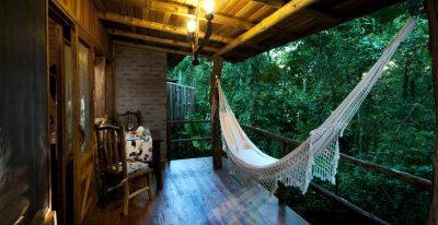 Aldea de la Selva_balcony with hammock