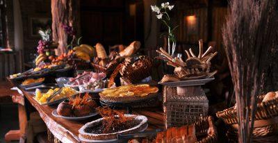 Aldea de la Selva_dining
