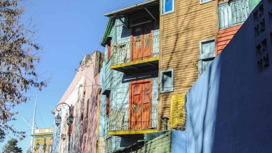 Buenos Aires - Colored Buildings