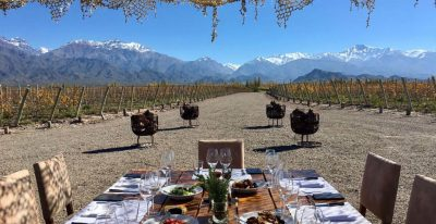 Casa de Uco_vineyard dining