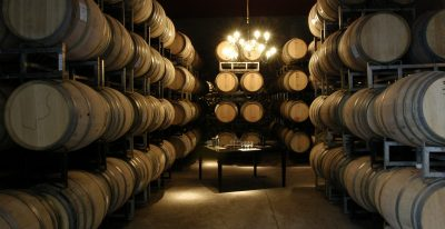 Club Tapiz_winery barrel room