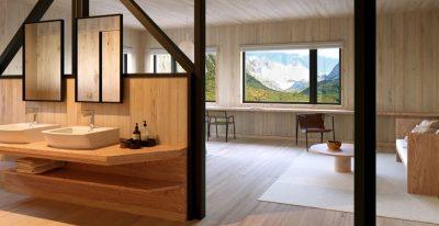 Explora Patagonia Argentina_Suite bathroom