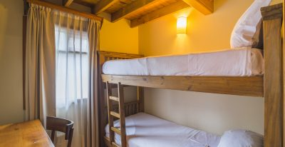 Hosteria Senderos_twin bunk room