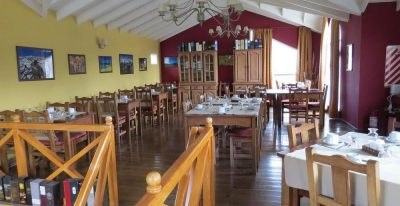La Aldea_dining room