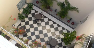 Magnolia Boutique Hotel_courtyard