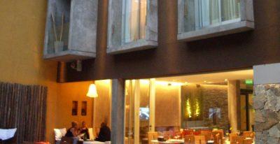 Mine Hotel_garden and restaurant