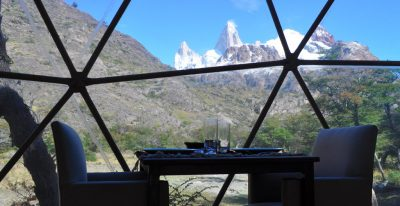 Patagonia Eco Domes_dining