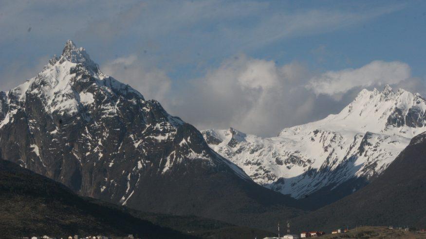 Ushaia - Snow capped mountains