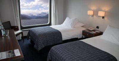 Australis cruise_AA Twin cabin