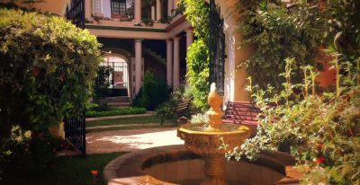 Samary Hotel_courtyard