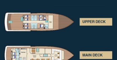 Bonita - Deck Plan