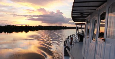 Amazon Tucano Cruise - View from side of boat