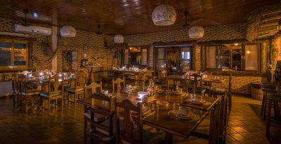 Araras Lodge Dining Area