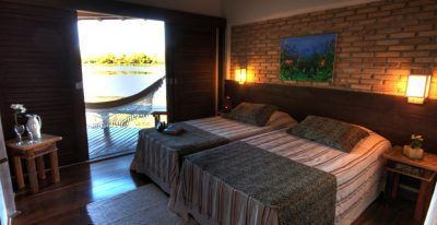 Caiman Ecological Refuge_Baiazinha Lodge twin room