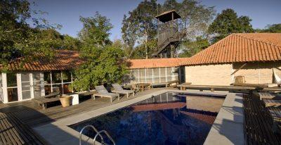 Caiman Ecological Refuge_Cordilheira Lodge and pool