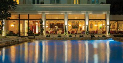 Copacabana Palace_pool and restaurant