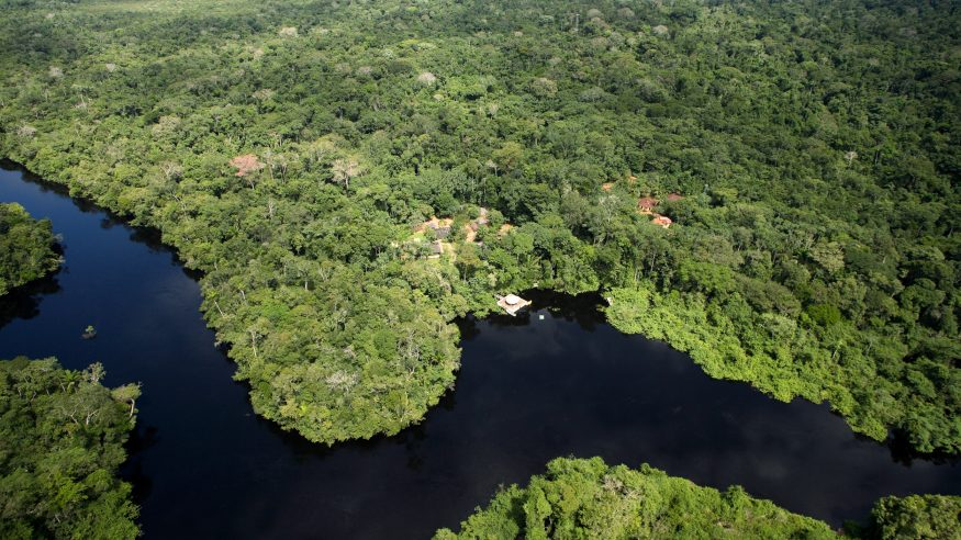 Cristalino Jungle Lodge_aerial view