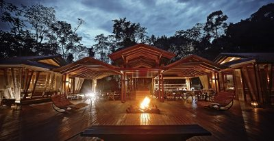Cristalino Jungle Lodge_bar and bonfire