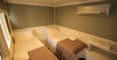 Jacare Boat Hotel_twin cabin