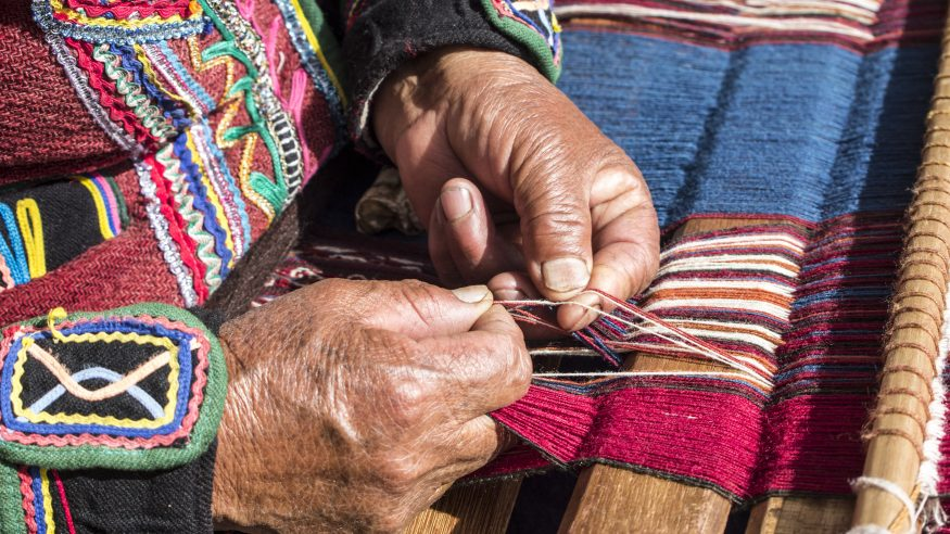 Chinchero Weaving