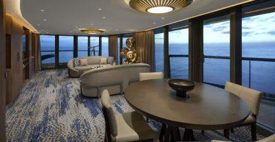 Celebrity Flora - Penthouse Suite Living