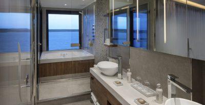 Celebrity Flora - Royal Suite Bathroom