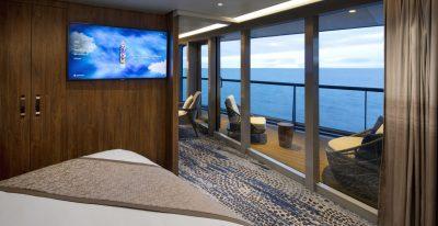Celebrity Flora - Royal Suite Bedroom