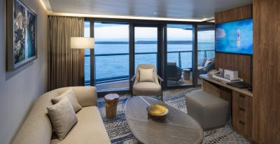 Celebrity Flora - Royal Suite Living