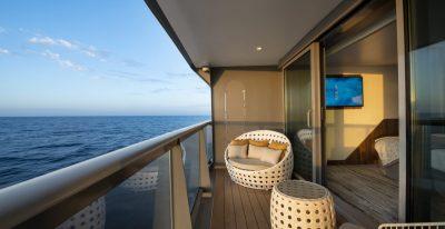 Celebrity Flora - Sky Suite Balcony