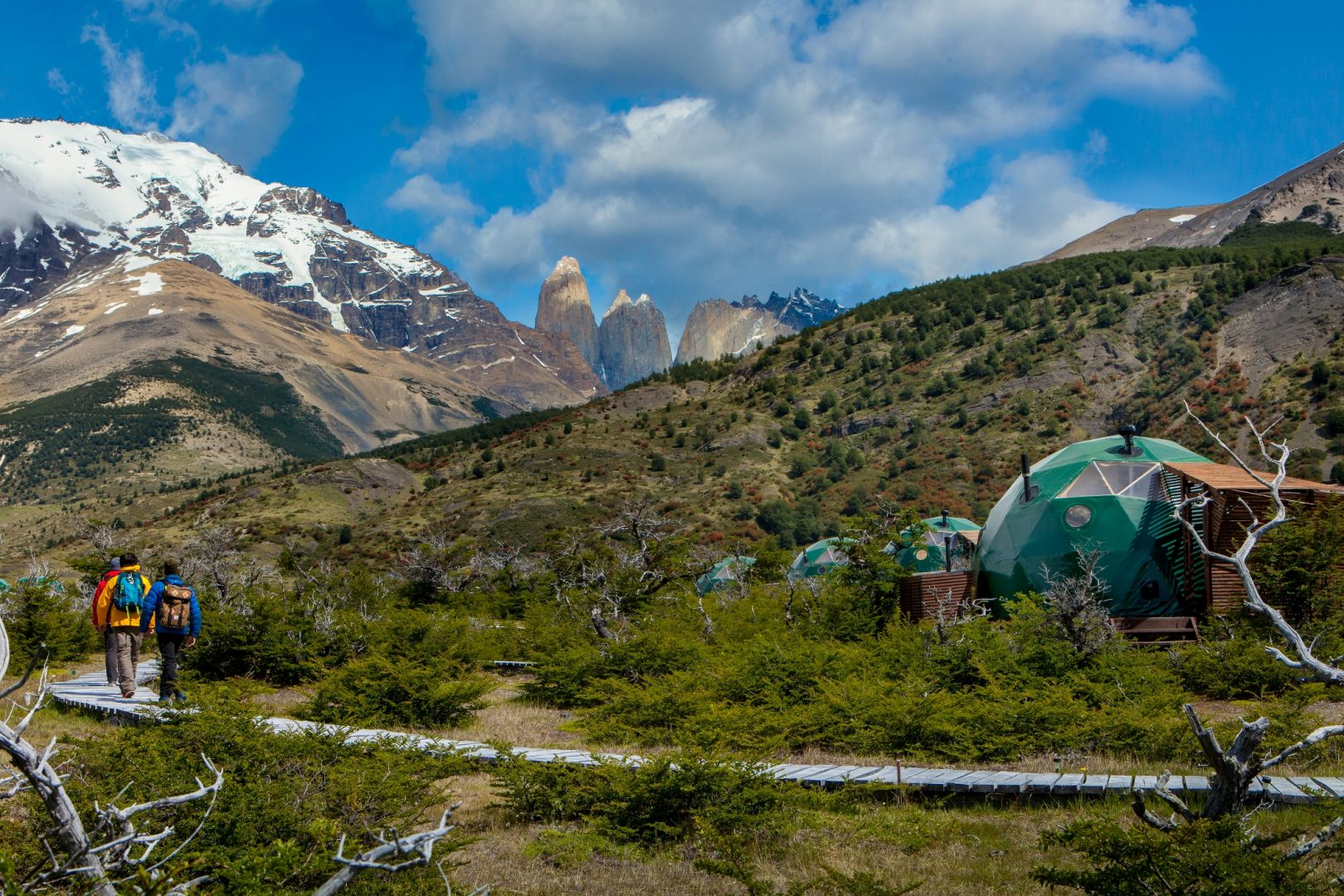 Ecocamp Patagonia Vaya Adventures