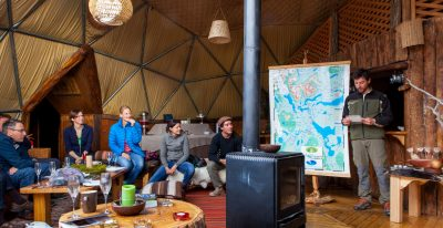 EcoCamp Patagonia_Community Dome